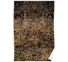 Buddhist Carving Poster