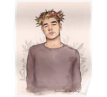 Flower crown Leyum Poster