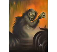 Creature (from the Black Lagoon) Photographic Print