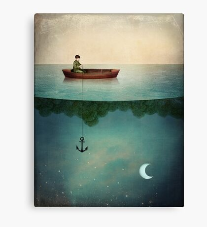 Entering Dreamland Canvas Print
