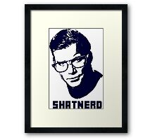 SHATNERD Framed Print