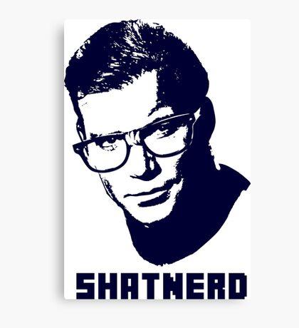 SHATNERD Canvas Print