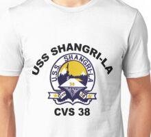 USS Shangri-La (CV/CVA/CVS-38) Crest Unisex T-Shirt