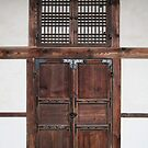 Palace Door, Changdeokgung by Jane McDougall