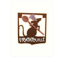 La Ratatouille Art Print