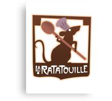 La Ratatouille Canvas Print