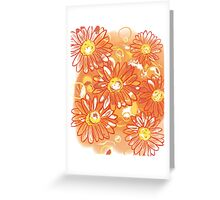 Uglifying Flowers Greeting Card