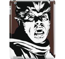 The Wolfman! Classic horror villain, pop art inspired iPad Case/Skin