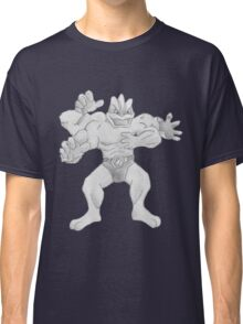 Machamp - B&W by Derek Wheatley Classic T-Shirt