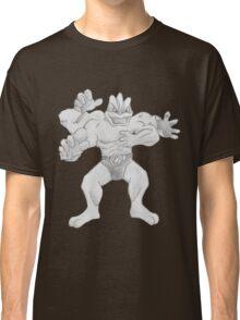 Machamp - B&W by Derek Wheatley Classic T-Shirt