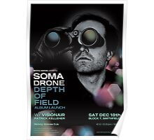 Somadrone Depth of Field Album Launch Poster Poster