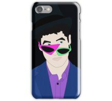 Darren with Funny Glasses iPhone Case/Skin