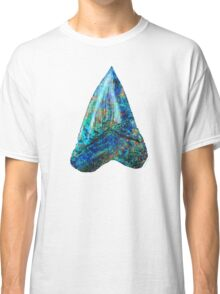 Blue Shark Tooth Art by Sharon Cummings Classic T-Shirt