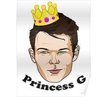 Princess G - Black Text Poster