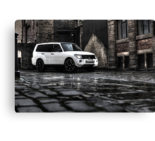 Shogun in the City .... Not sure if I like the effect or not ??? Canvas Print