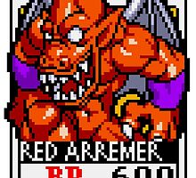 Red Arremer by Lupianwolf