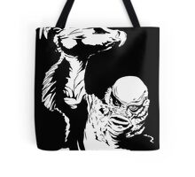 Creature from the Black Lagoon! Pop art insired Tote Bag