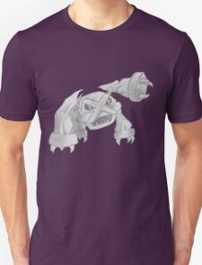 Metagross - B&W by Derek Wheatley T-Shirt