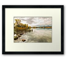 Stormy Autumn Afternoon Framed Print