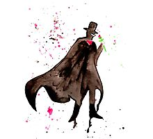 Tuxedo Mask Watercolor Photographic Print