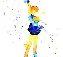 Uranus Watercolor by shaunarae