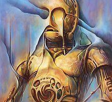 Tomek Biniek - C3PO by Tomek Biniek