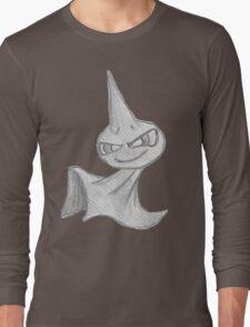 Shuppet - B&W by Derek Wheatley Long Sleeve T-Shirt