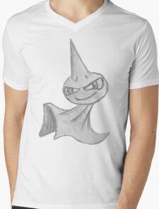 Shuppet - B&W by Derek Wheatley Mens V-Neck T-Shirt