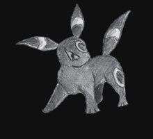 Umbreon - B&W by Derek Wheatley [A] Kids Clothes