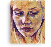 Portrait study III Canvas Print