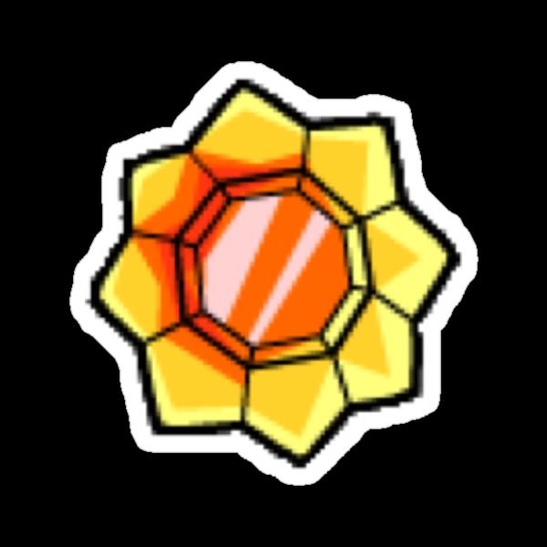 Thunder Badge (Pokemon Gym Badge) by NiteOwl