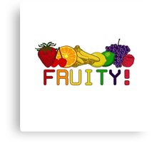 Fruity Fruit! Canvas Print