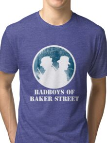 Bad Boys of Baker Street Victorian Edition (White) Tri-blend T-Shirt