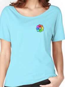 Rainbow Badge (Pokemon Gym Badge) Women's Relaxed Fit T-Shirt