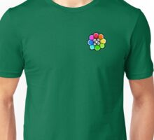 Rainbow Badge (Pokemon Gym Badge) Unisex T-Shirt