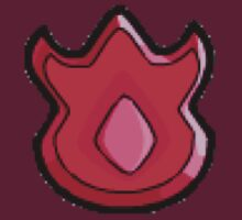Volcano Badge (Pokemon Gym Badge) by NiteOwl