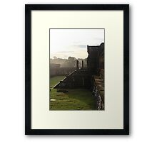 Sunrise on Angkor Wat II - Angkor, Cambodia. Framed Print