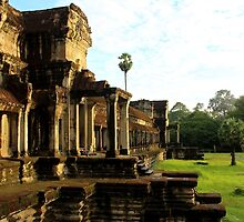 Sunrise on Angkor Wat VI - Angkor, Cambodia. by Tiffany Lenoir