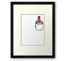 Dank Hank Pocket Framed Print