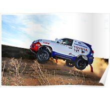 Toyota Dakar Race Car .... Poster