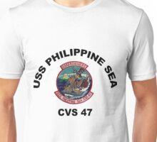 USS Philippine Sea (CV/CVA/CVS-47, AVT-11) Unisex T-Shirt