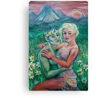 Courtship of Persephone Canvas Print