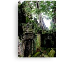 Ta Prohm Temple IX - Angkor, Cambodia. Canvas Print