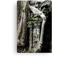 Ta Prohm Temple X - Angkor, Cambodia. Canvas Print
