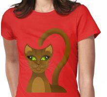 CHO-SING CAT Womens Fitted T-Shirt