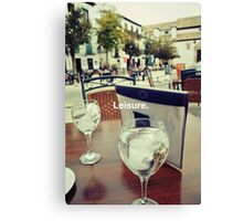 Spain Relaxation Canvas Print