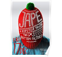 Jape Wooly Hat Poster Poster
