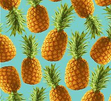 Pineapple pattern by MartaOlgaKlara