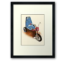 Tricycle 237  Framed Print