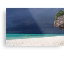Approaching Storm - Caribbean Sea Metal Print
